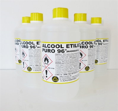 ETHYL ALCOHOL PURE 96°